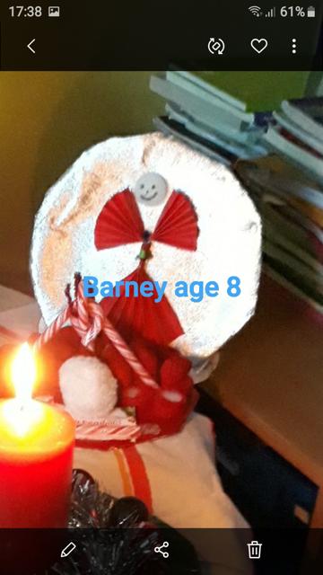 Barney McGinley, Age 8, Sligo