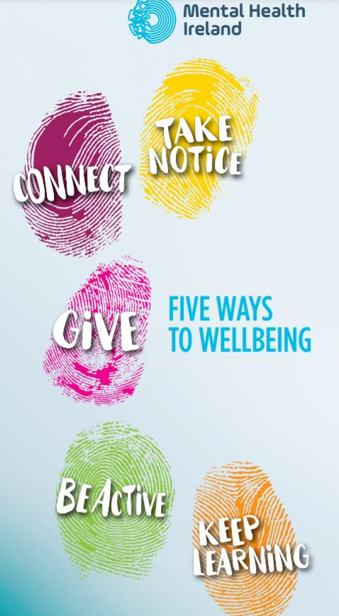 5 ways to well being booklet
