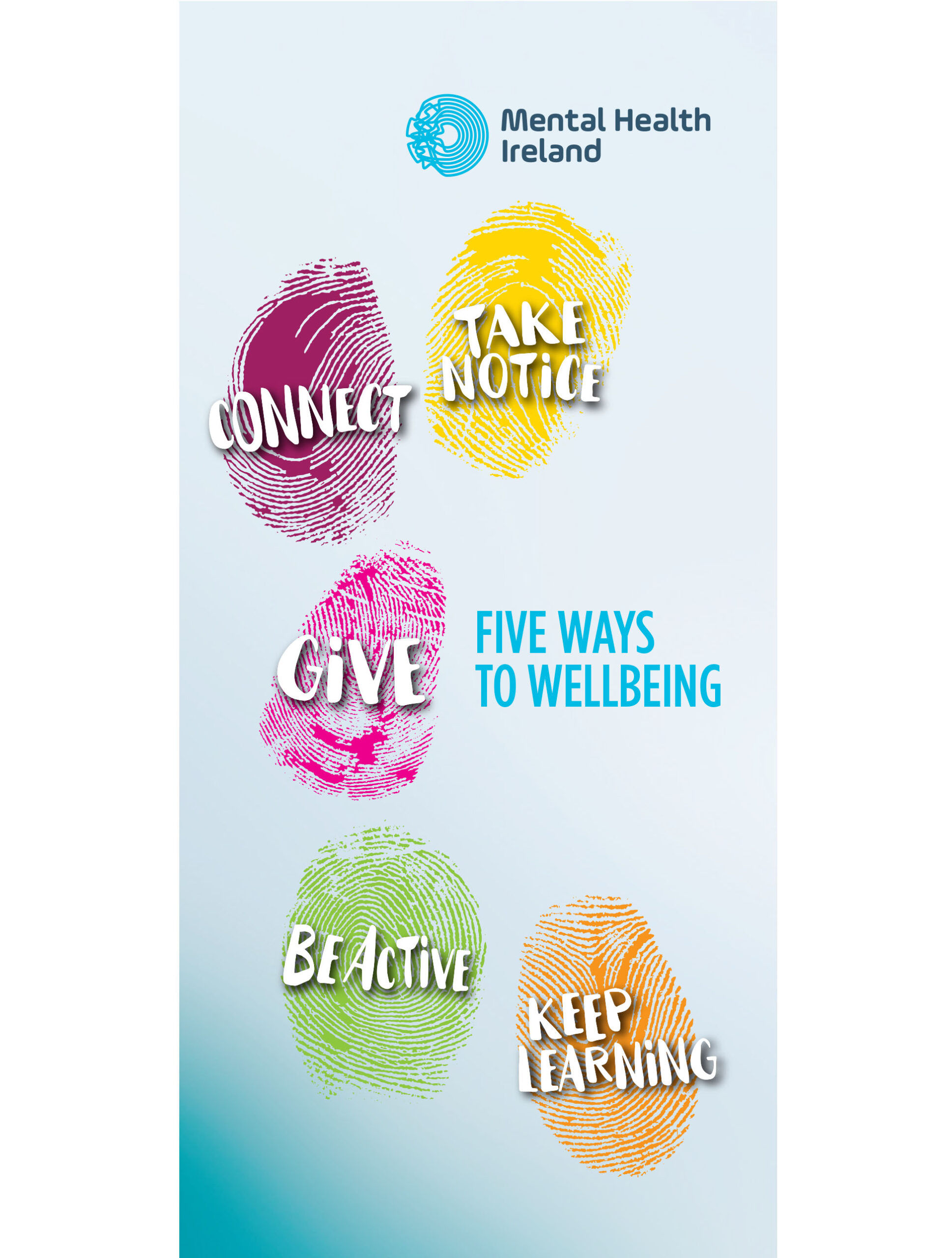 The Five Ways to Wellbeing Leaflet