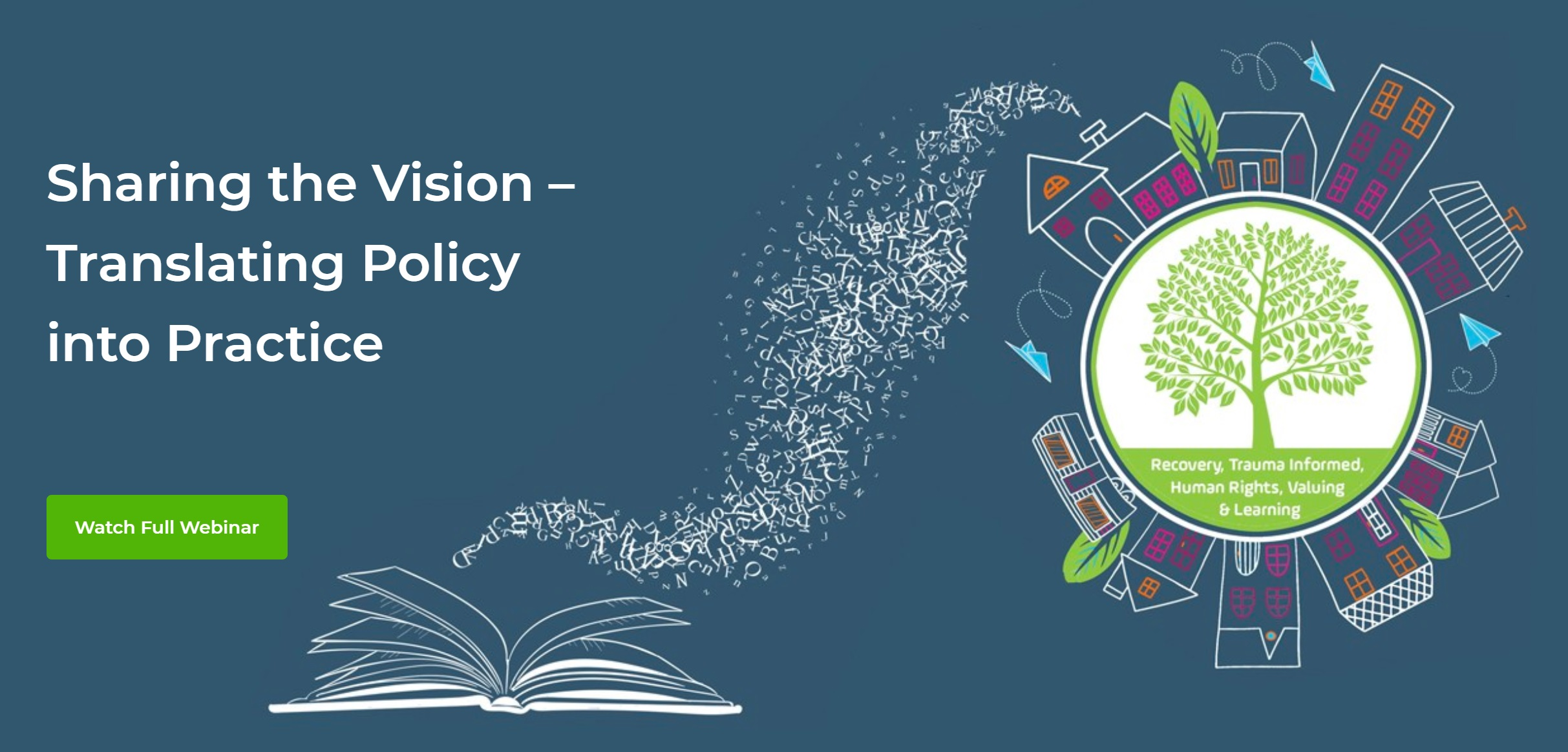 Sharing the Vision Webinar